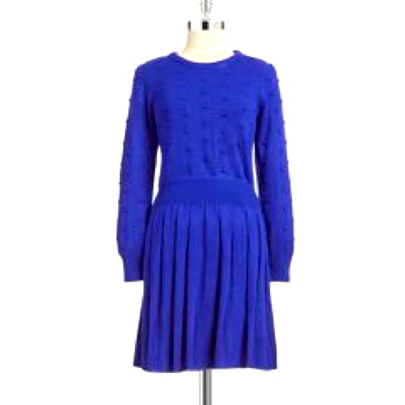 Brand new Cobalt Blue Bobble Knit Dress